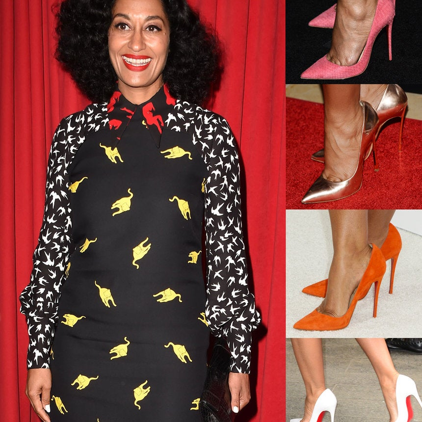 We Can't Get Over How Fierce Tracee Ellis Ross' Colorful Shoe Game Is!