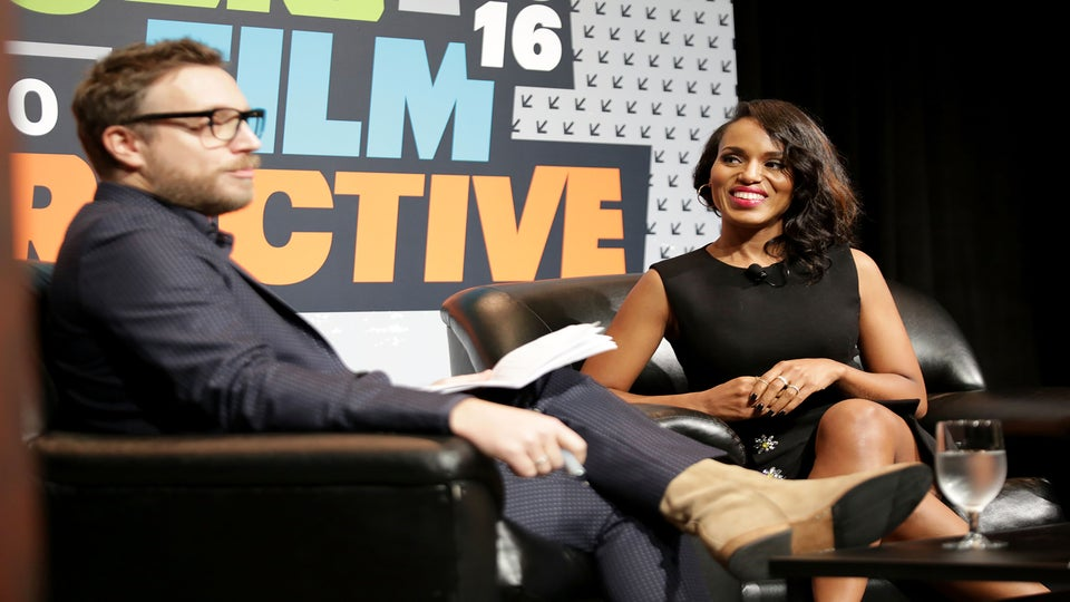Kerry Washington Talks 'Social Stardom' at SXSW