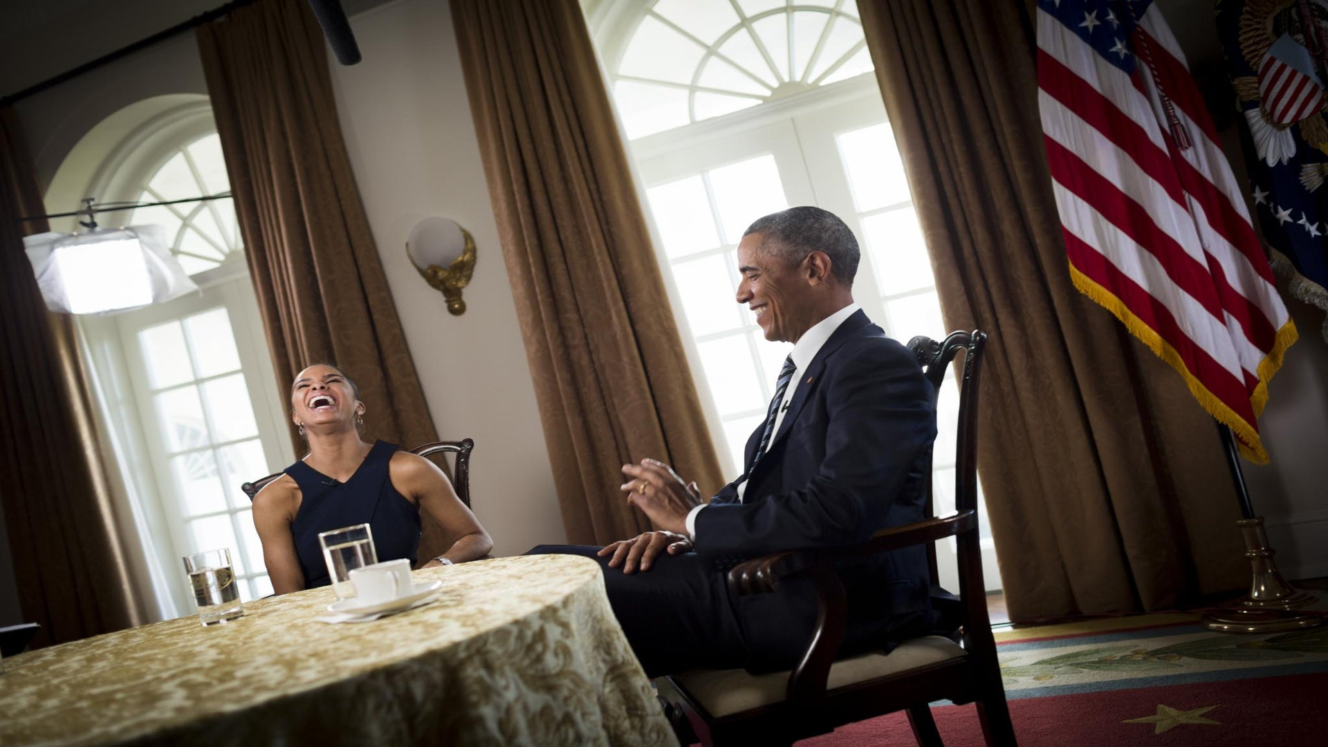 President Obama Talks Race and Body Image, Loving Michelle Obama Curves
