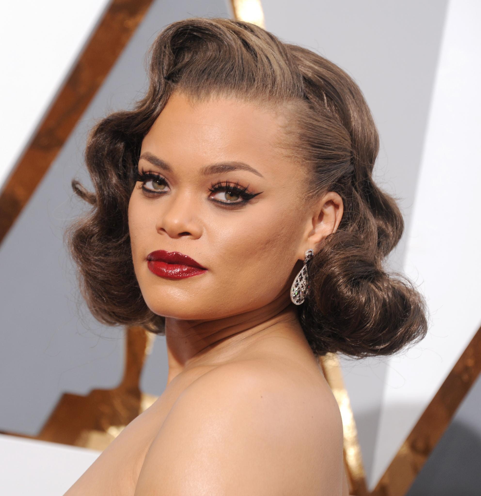 Andra Day: Andra Day Dishes On Her Signature Pompadour, Says 'I Avoid