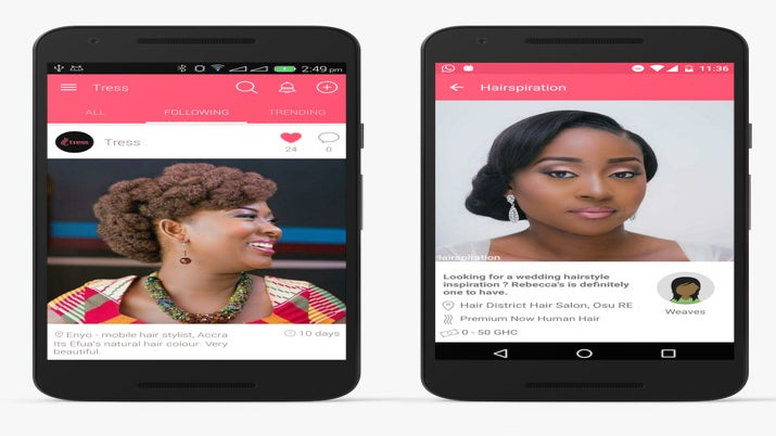New Natural Hair App Brings Convenience to Women Worldwide