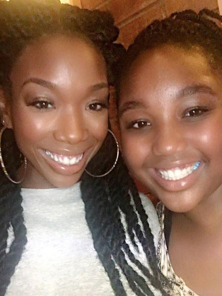 Brandy's Daughter Sy'Rai Can Sing Just Like Her Mom!
