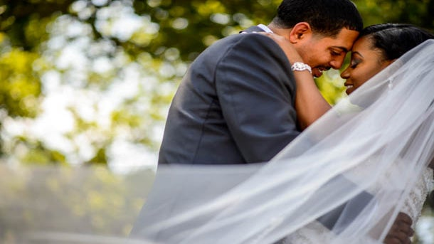 Bridal Bliss: Twanna and James' Lavish Riverside Wedding Takes the Cake