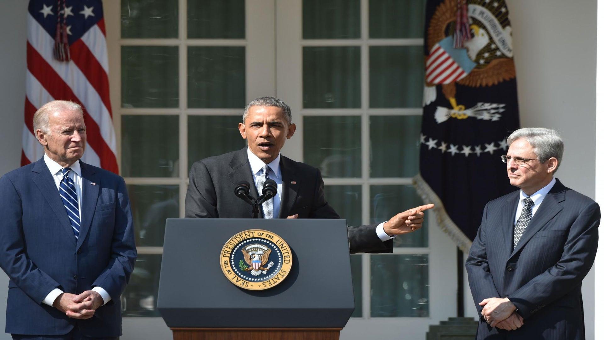 President Obama Names Merrick Garland as SCOTUS Nominee