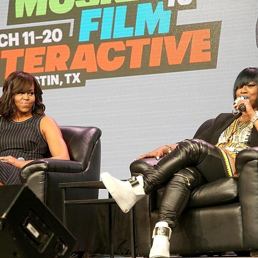 Michelle Obama, Queen Latifah, Missy Elliot Talk Empowerment at SXSW