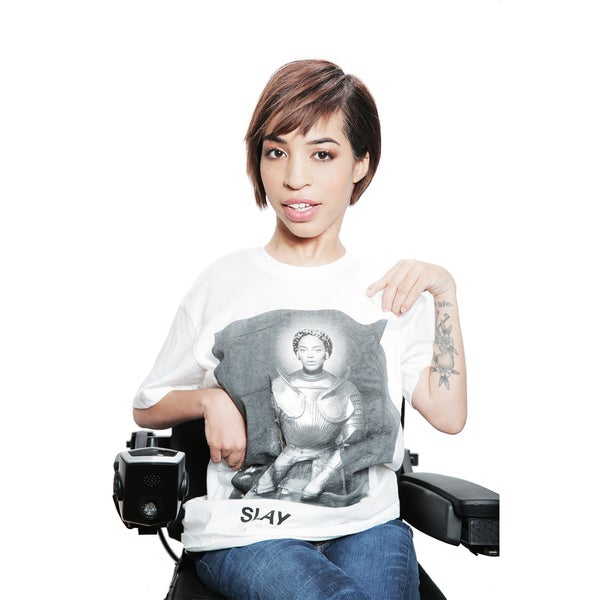 They Slay! Beyonce Taps Jillian Mercado, Wheelchair Bound Model For Clothing Campaign