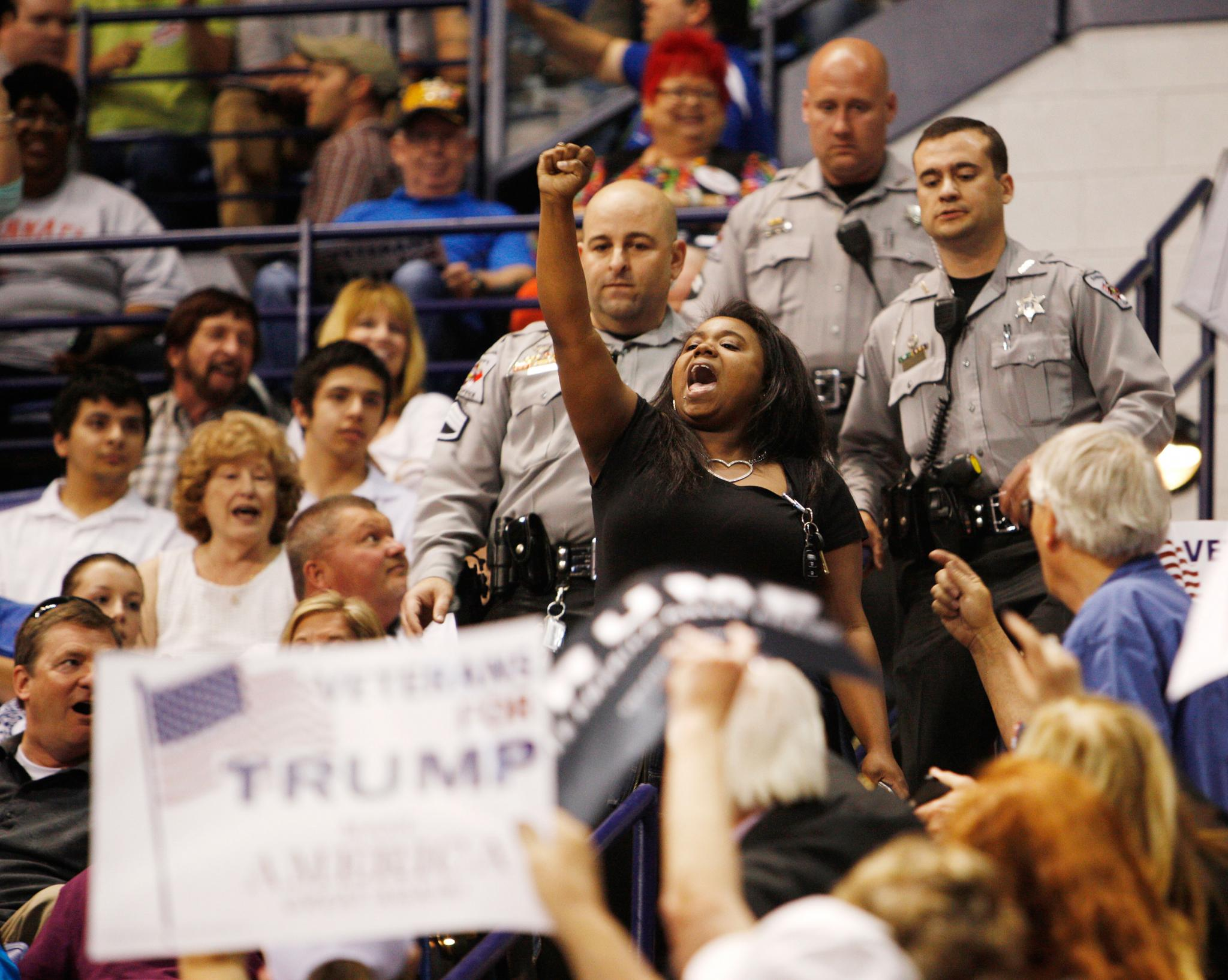 Interesting Persuasive Essay Topics For High School Students Black Woman Yelled Black Lives Matter At Trump Rally Pens Personal Essay  About Experience High School Essay Samples also High School Persuasive Essay Black Woman Yelled Black Lives Matter At Trump Rally Pens  High School Essays Examples