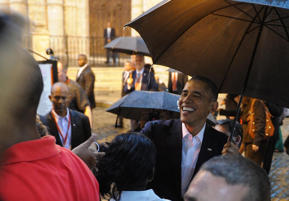 President Obama Becomes First President in 88 Years to Visit Cuba