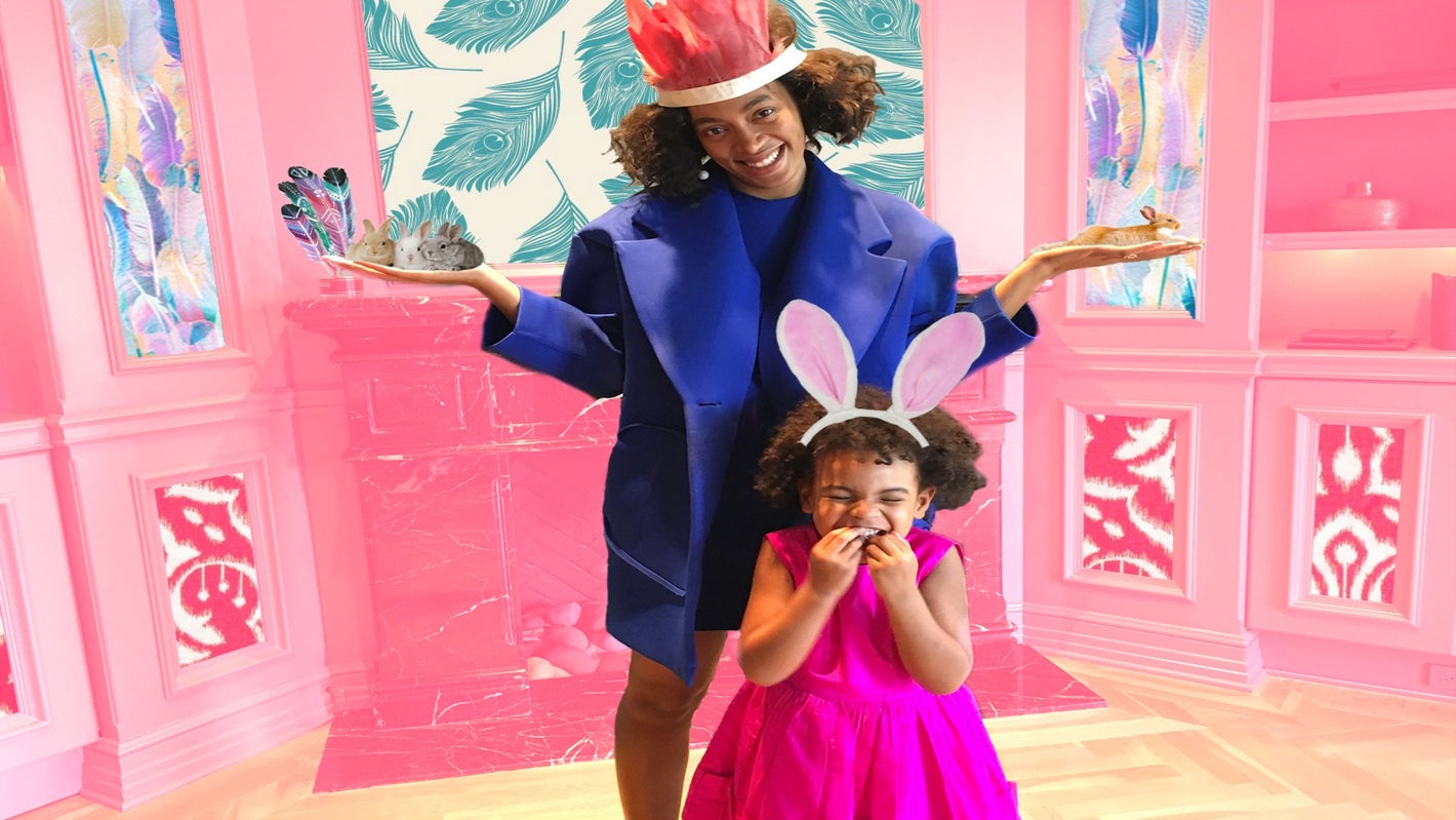 Beyoncé and Blue Ivy Have the Best Tea Party Ever