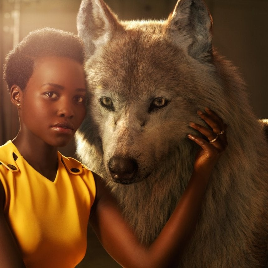 See Lupita Nyong'o and Idris Elba in Stunning Portraits from Disney's 'The Jungle Book'