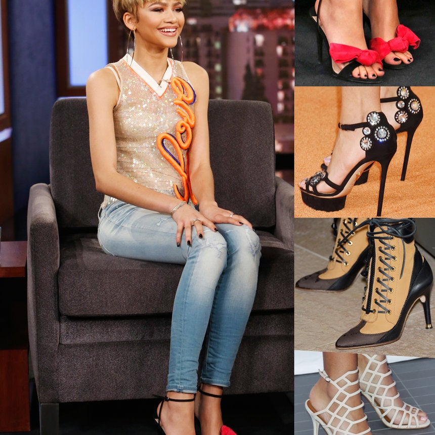 We're So Here For Zendaya's Ever-Changing Shoe Game