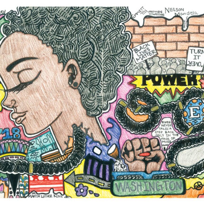 doodle 4 google winner akilah johnson drawing celebrates black lives