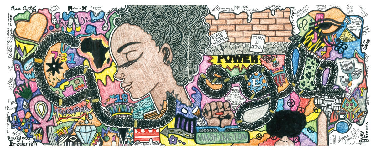 #BlackGirlMagic: Thank This 15-Year-Old For Your Unapologetically Black Google Homepage Today