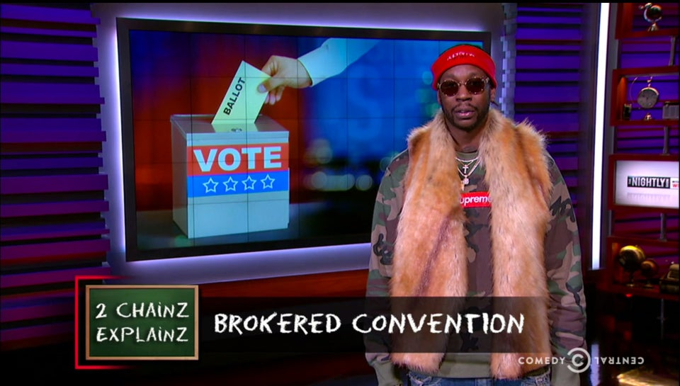 Rapper 2 Chainz Hilariously Explains Brokered Conventions