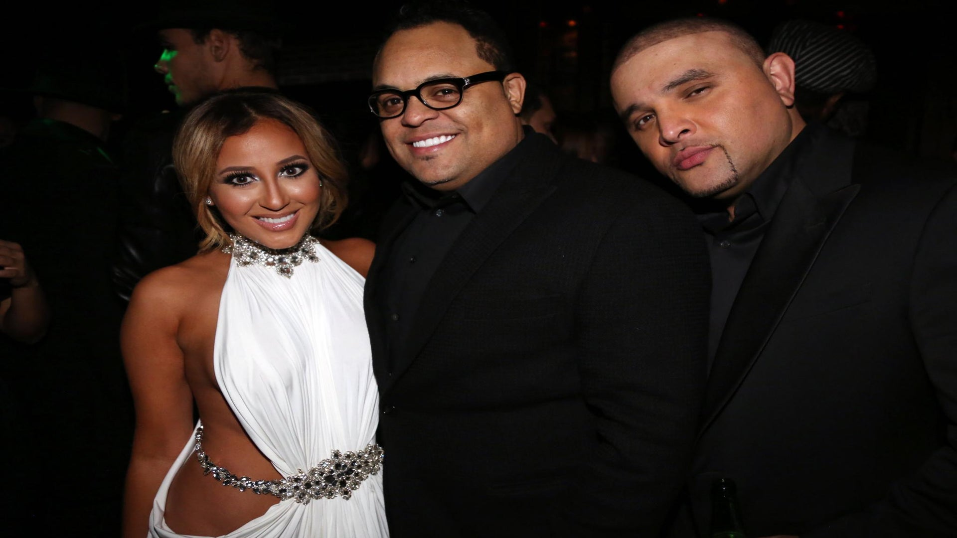 Adrienne Bailon Discusses Relationship With Israel Houghton