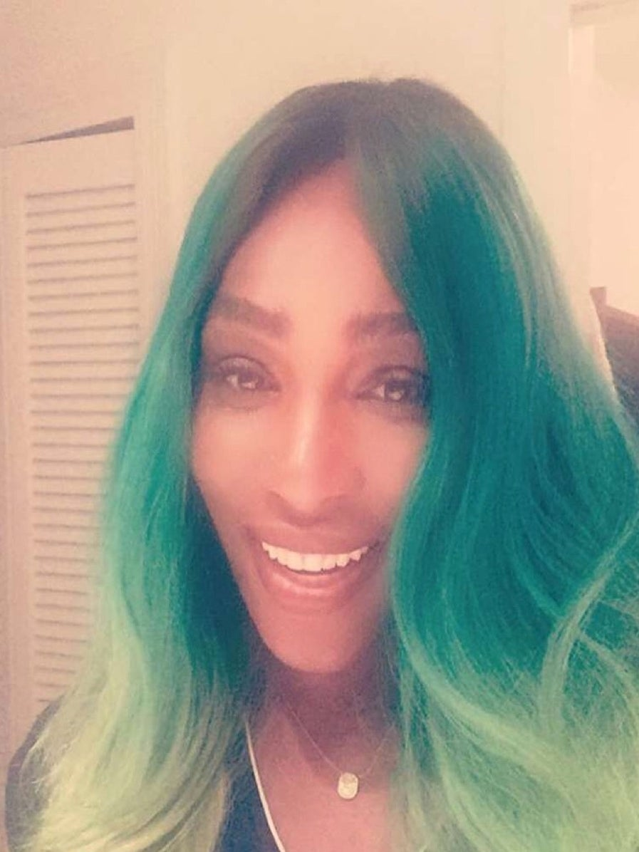 Have You Seen Serena Williams' Green Hair?
