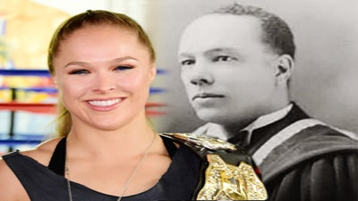 Say What? UFC Fighter Ronda Rousey's Great-Grandfather Was a Black History Pioneer