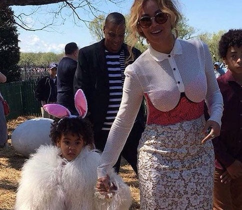 Beyoncé and Blue Ivy Attend the Obama's Final White House Easter Egg Roll!