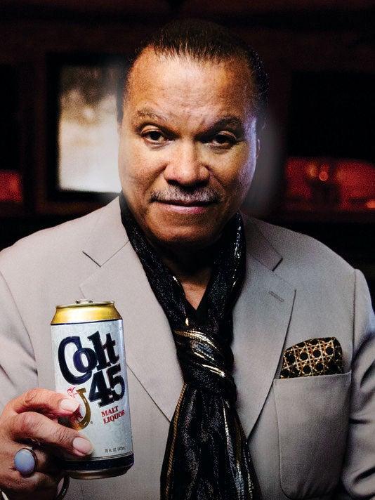Billy Dee Williams is a Colt 45 Spokesperson Again