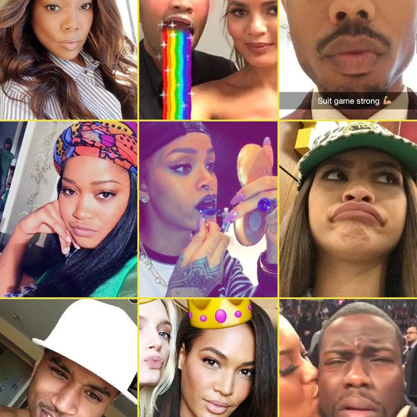 22 Celebs You've Got to Follow on Snapchat