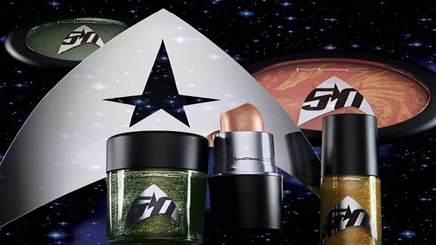 MAC's Newest Collaboration Has a 'Star Trek' Theme