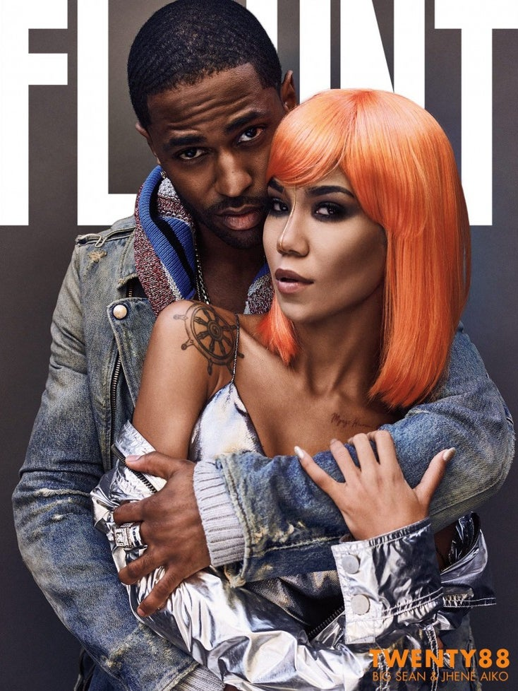We Seriously Can't Stop Staring at Jhené Aiko's Orange Wig