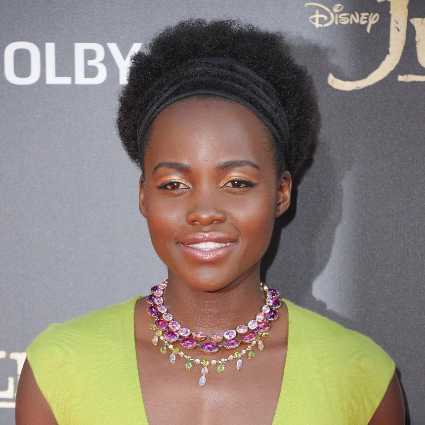 Get Lupita Nyong'o's Look with 4 Hair Ties, Gel and Coconut Oil