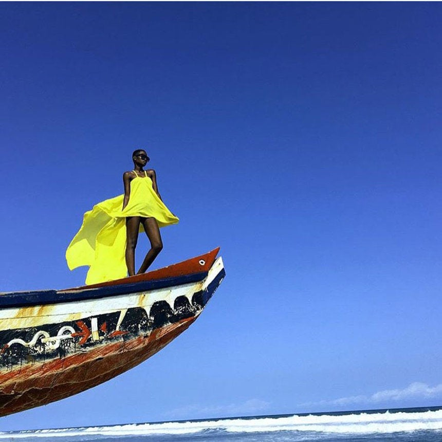 The 15 Best Black Travel Photos You Missed This Week: Black Girl Magic In Ghana