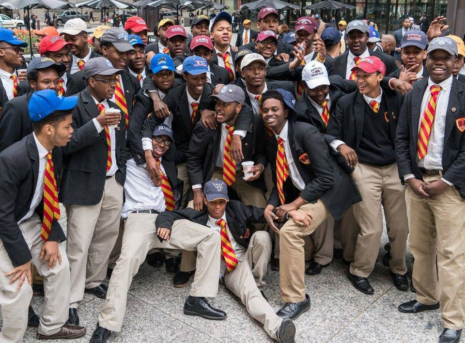 They Did It Again!  Entire Senior Class At Urban Prep Chicago is Headed to College