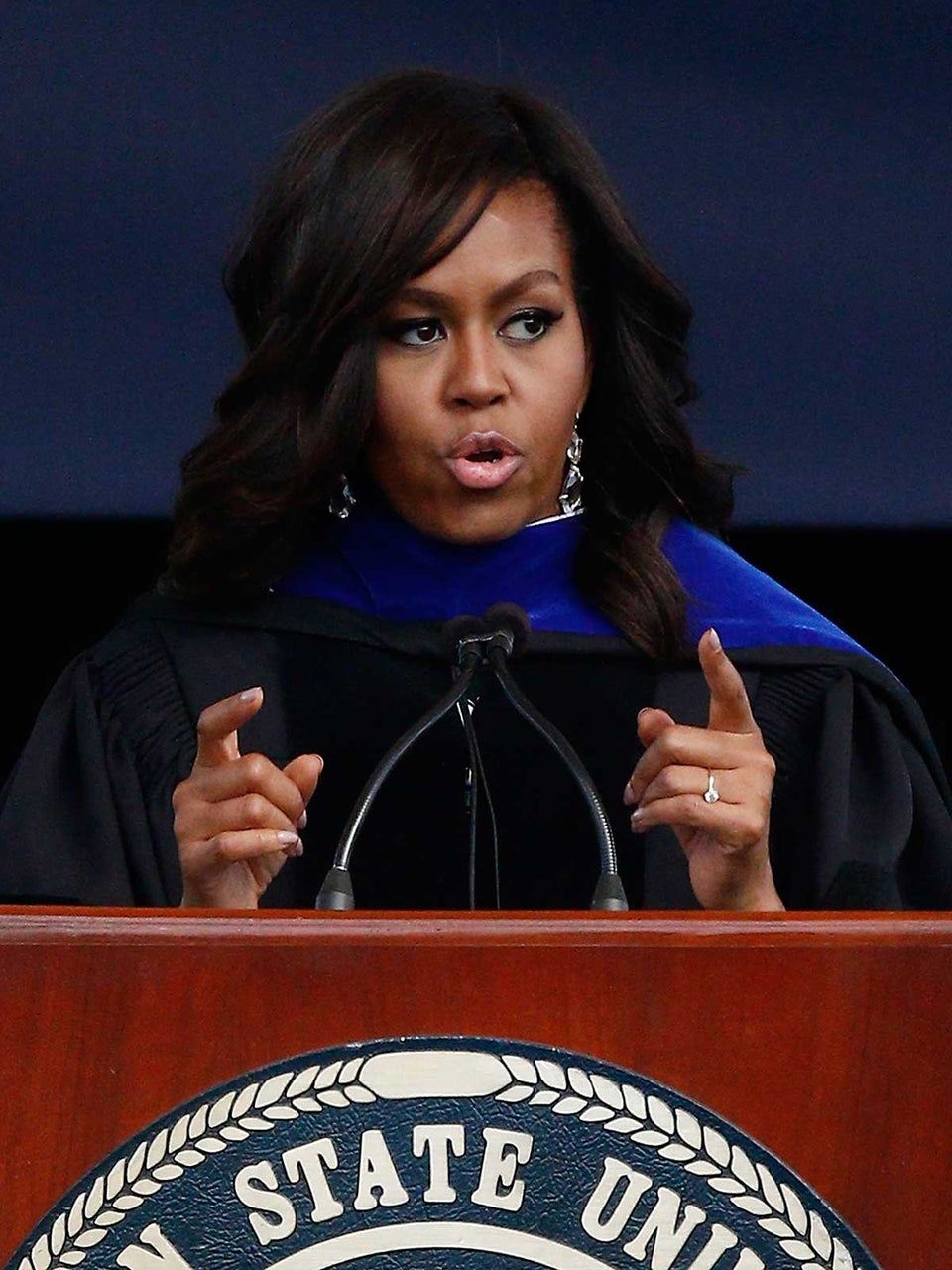 Michelle Obama On Barack Obama's Ability to 'Rise Above the Fray'