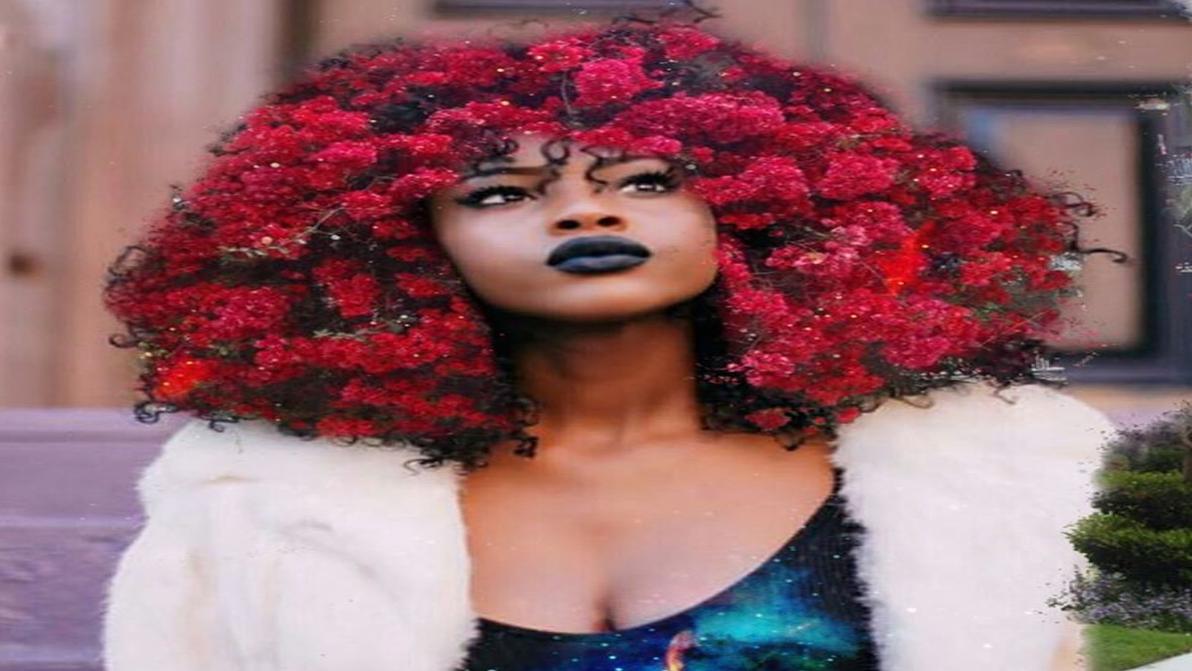 Painter Turns Black Women's Hair Into Works Of Art