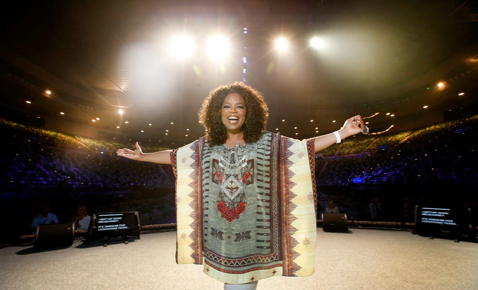 Oprah Winfrey Doesn't Care How Much She Weighs