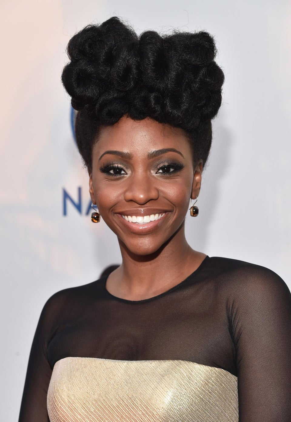 Teyonah Parris' New DIY Concoction Will Keep Your Hair Healthy