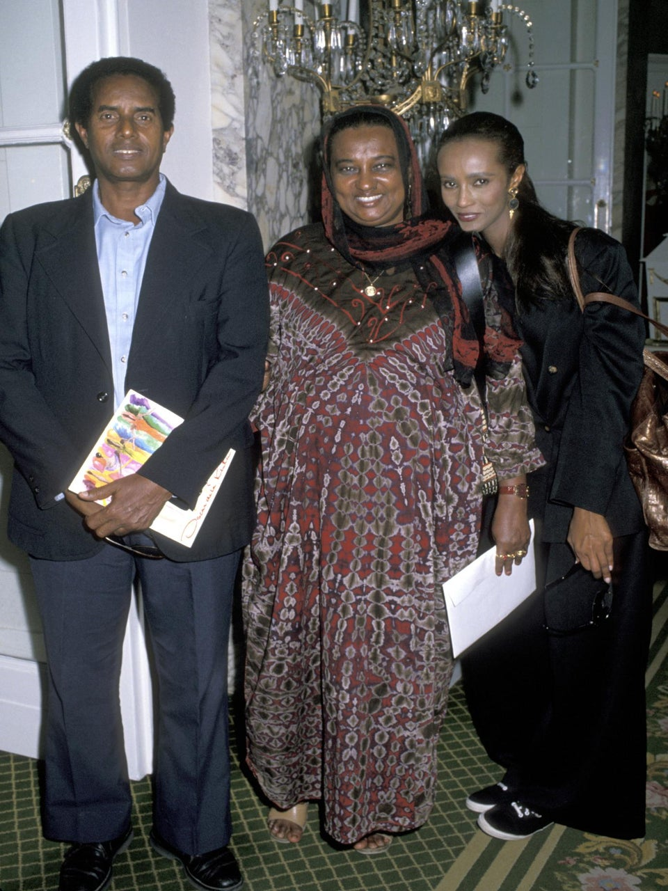 Iman Loses Her Mother Just Three Months After Husband David Bowie's Passing