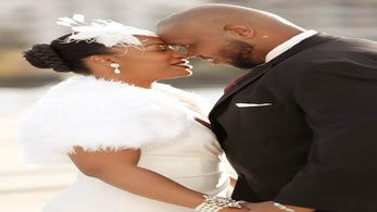 Bridal Bliss: Love Sure Looks Good On Newlyweds Joy and Troy