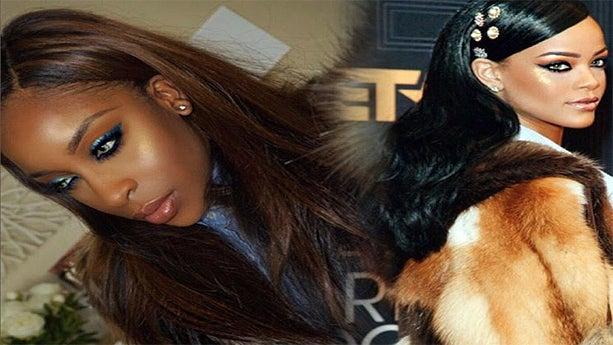 Beauty Vlogger Recreates Rihanna's Black Girls Rock Look For Dark Skin Girls