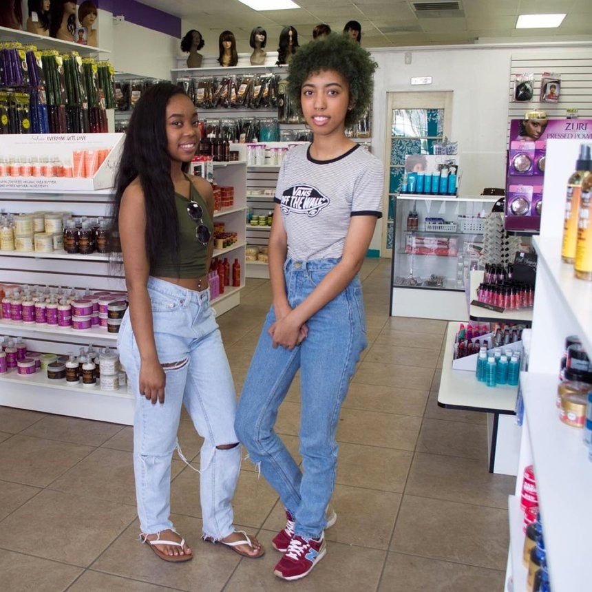 Teen Sisters Are Youngest Owners of Beauty Supply Store In California