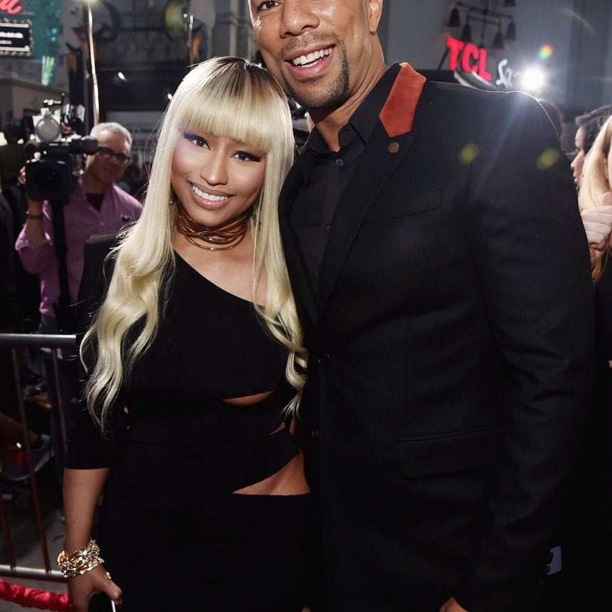 "Nicki Minaj, Common, Eve and More Stars at the ""Barbershop: The Next Cut"" Premiere"
