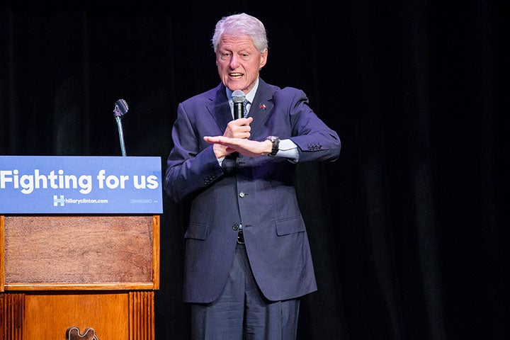 Bill Clinton on His Criminal Justice Legacy Following Dispute with Black Lives Matter Activists: 'I Almost Want to Apologize for It'