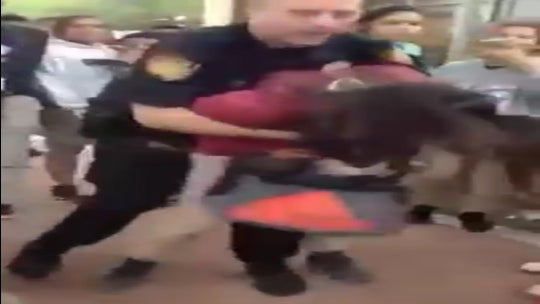 Video Shows Texas School Officer Body-Slamming a 12-Year-Old Girl