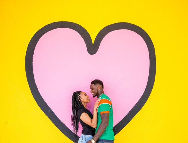 Just Engaged: College Sweethearts Shonda and Kevin Fell In Love on the Dance Floor