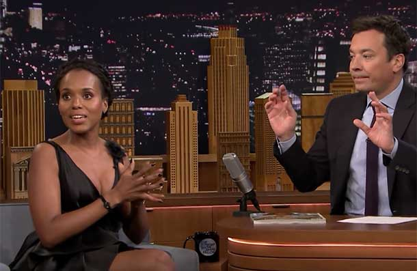 Guess Which Star Taught a Young Kerry Washington How To Dance In the Bronx