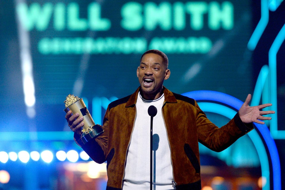Will Smith Is All Jokes While Accepting MTV's Generation Award