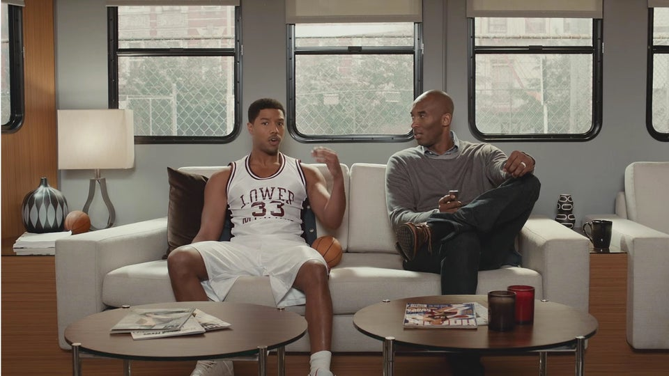 Michael B. Jordan, Kobe Bryant Team Up for Hilarious Apple TV Ad
