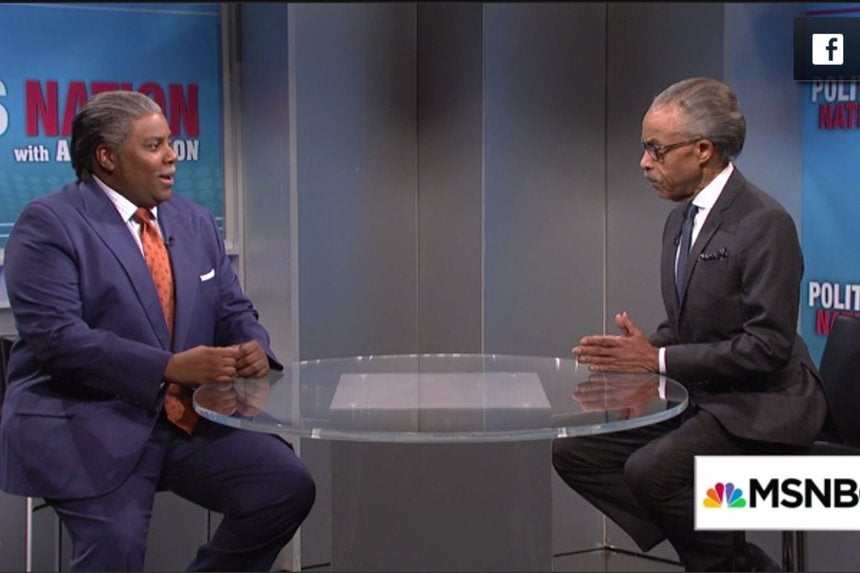 The Real Al Sharpton Came Face to Face with Kenan Thompson's ...