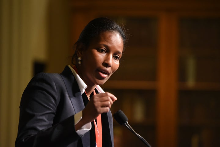 Activist Ayaan Hirsi Recognized in New York for Work to End Honor VIolence