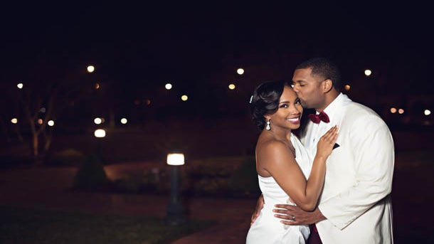 Bridal Bliss: Courtney and Andrew's Romantic Love Story Was 12 Years In the Making