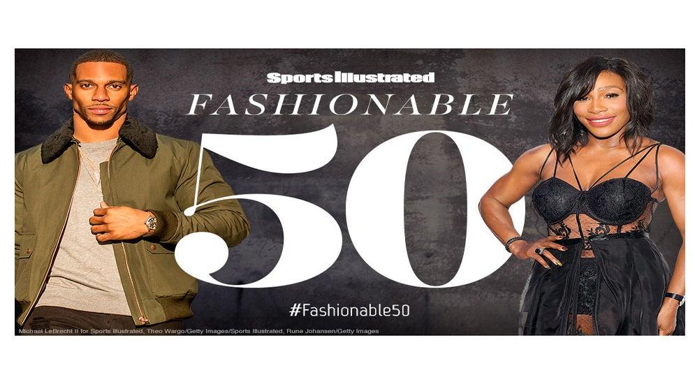 Serena Williams, Misty Copeland and Laila Ali Among Sports Illustrated's '50 Most Fashionable Athletes' List