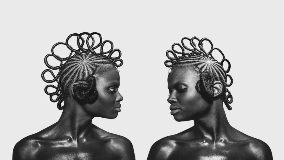 New Hair-Centric Portrait Series Showcases Unique Braided Hairstyles