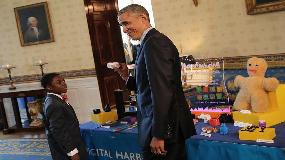Hundreds of Students Attend President Obama's Final White House Science Fair